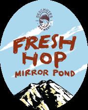 Fresh Hop Mirror Pond - Deschutes Brewery