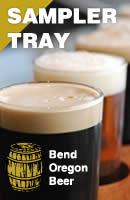Bend Oregon Beer Sampler Tray
